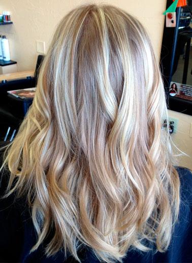 Мелирование волос в салоне
